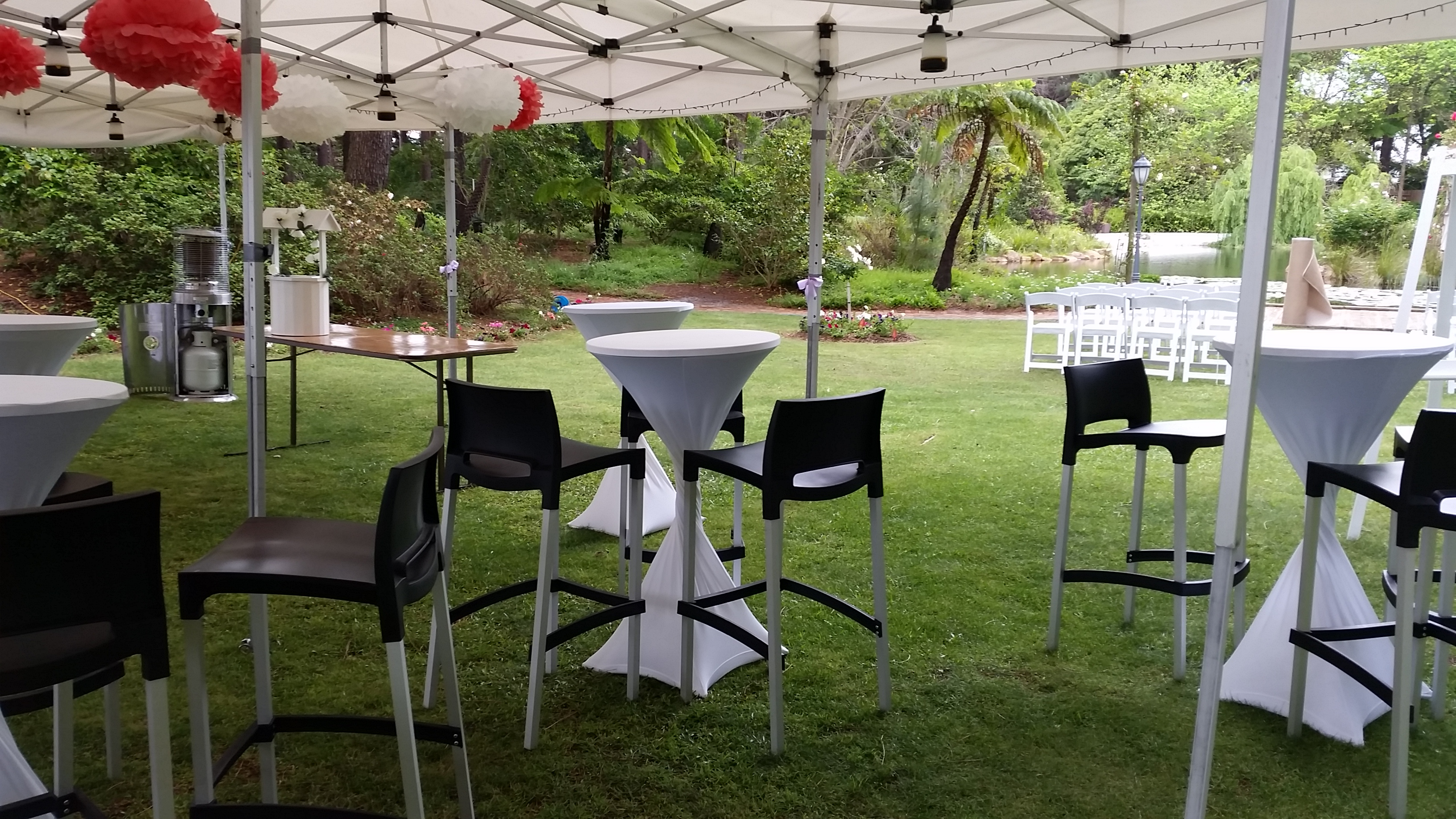 Outdoor Furniture Party Hire Perth