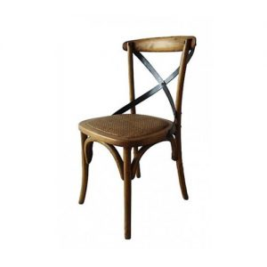 Oak-Cross-Back-Chairs